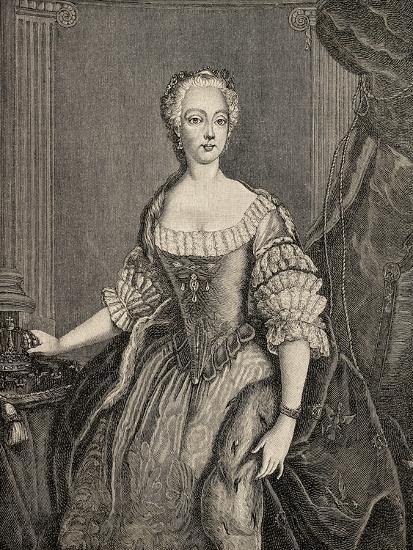 Elisabeth Christine of Brunswick-Wolfenbuttel-Bevern--Giclee Print