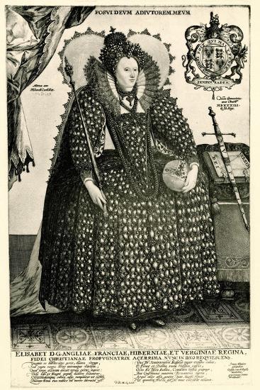 Elisabeth I., 1884-90--Giclee Print