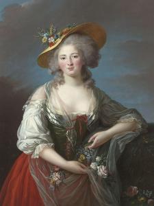 Elisabeth Philippine Marie Hélène de France, dite Madame Elisabeth by Elisabeth Louise Vigée-LeBrun