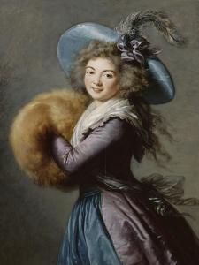 Madame Molé-Raymond de la Comédie italienne by Elisabeth Louise Vigée-LeBrun