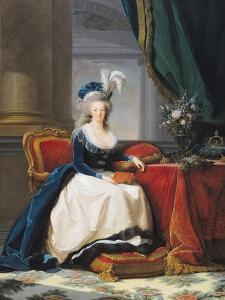 Marie-Antoinette (1755-93) 1788 by Elisabeth Louise Vigee-LeBrun
