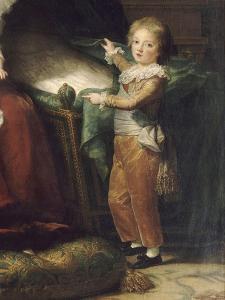 Marie-Antoinette de Lorraine-Hasbourg, reine de France et ses enfants by Elisabeth Louise Vigée-LeBrun