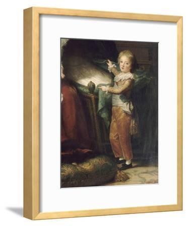 Marie-Antoinette de Lorraine-Hasbourg, reine de France et ses enfants