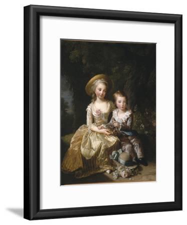 """Marie-Thérèse-Charlotte de France, """"Madame Royale"""" (future duchesse d'Angoulême) (1778-1851) et"""
