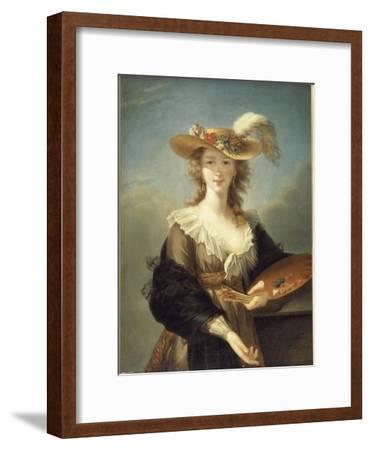Portrait de Marie-Louise-Elisabeth Vigée-Le Brun (1755-1842), peintre
