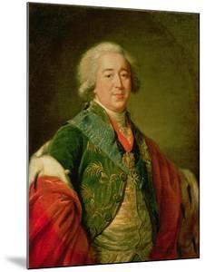 Portrait of Prince Alexander Borisovich Kurakin, 1797 by Elisabeth Louise Vigee-LeBrun