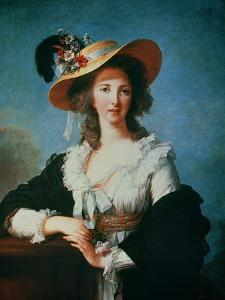 Portrait of the Duchess of Polignac (circa 1749-93) by Elisabeth Louise Vigee-LeBrun