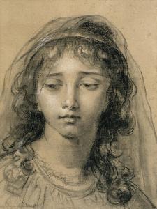 Tête de jeune fille by Elisabeth Louise Vigée-LeBrun