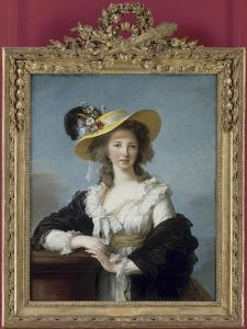 Yolande-Gabrielle-Martine de Polastron, duchesse de Polignac (1749-1793) by Elisabeth Louise Vigée-LeBrun
