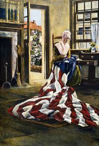 Betsy Ross (1752-1836) by Elisabeth Moore Hallowell