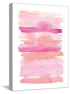 Abstract Pink Stripes by Elise Engh