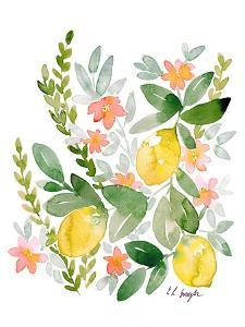 Lemons and Blossoms by Elise Engh