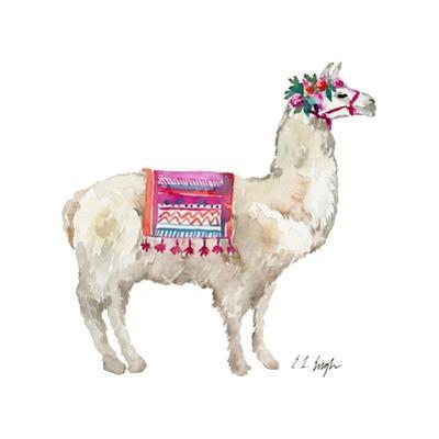 PeruVIan Llama by Elise Engh