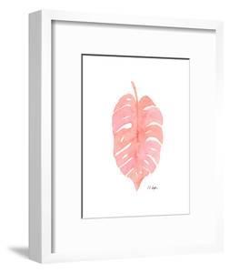 Pink Palm Frond I by Elise Engh