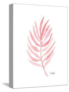 Pink Palm Leaf I by Elise Engh