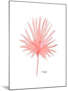 Pink Palm Leaf II by Elise Engh