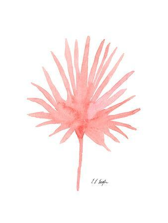 Pink Palm Leaf II