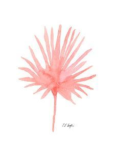 Pink Palm Leaf II by Elise Engh