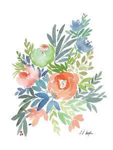 Wild Floral II by Elise Engh