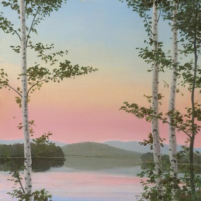 Cooper Sunset Birches