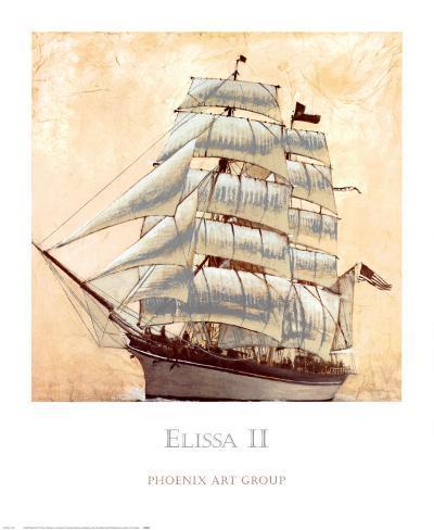 Elissa II-John Douglas-Art Print