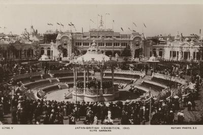Elite Gardens, Japan-British Exhibition, London 1910--Photographic Print