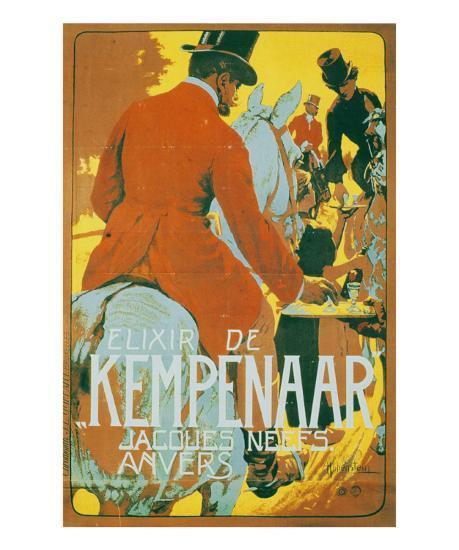 Elixir de Kempenaar-Adolfo Hohenstein-Art Print