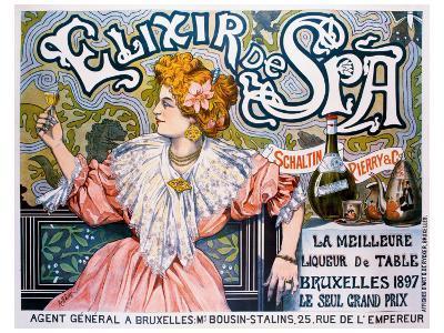 Elixir de Spa--Giclee Print
