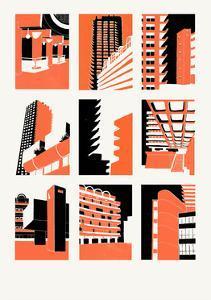 Barbican, 2014 by Eliza Southwood