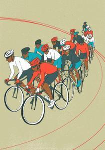 Bike Race by Eliza Southwood