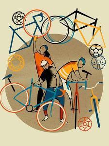 Bike Shop by Eliza Southwood