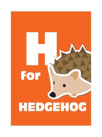 H For The Hedgehog, An Animal Alphabet For The Kids