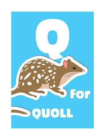 Q For The Quoll, An Animal Alphabet For The Kids