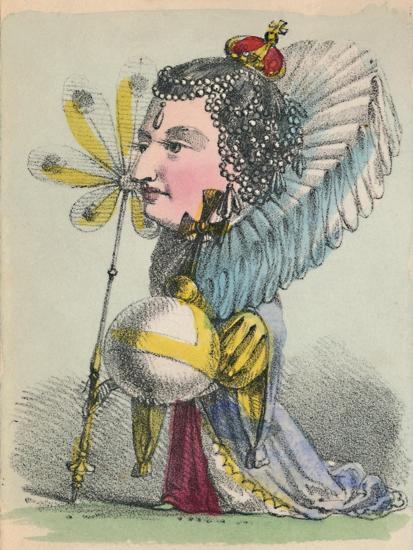 'Elizabeth', 1856-Alfred Crowquill-Giclee Print