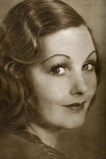 Elizabeth Allan, English Actress, 1933--Giclee Print