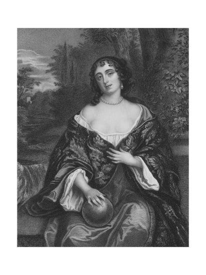 Elizabeth Bagot, Countess of Falmouth and Dorset-Sir Peter Lely-Giclee Print