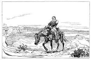 Arrival of Dr Brydon at Jalalabad, January 1842 by Elizabeth Butler