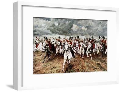 Scotland for Ever, the Charge of the Scots Greys at Waterloo, 18 June 1815
