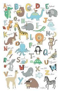 Alphabet Animals by Elizabeth Caldwell