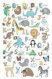 Alphabet Animals-Elizabeth Caldwell-Giclee Print