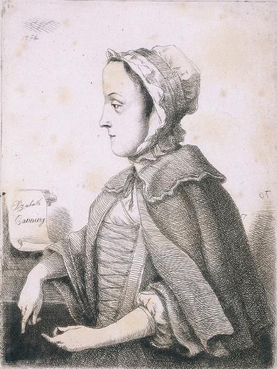 Elizabeth Canning, Malefactor, C1753--Giclee Print
