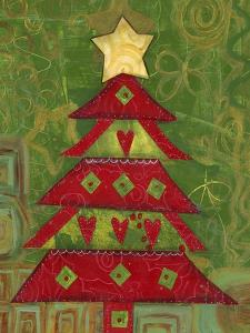 117-Love Christmas Tree by Elizabeth Claire