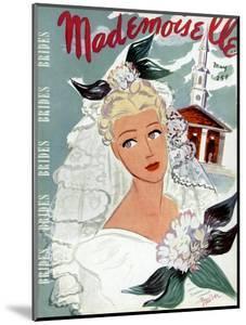 Mademoiselle Cover - May 1937 by Elizabeth Dauber