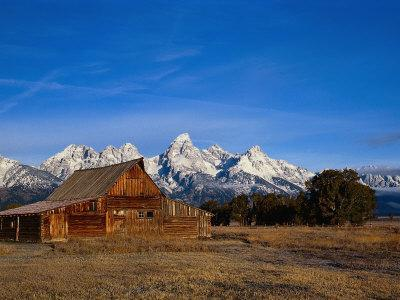 Shanes Barn, Grand Teton National Park, WY