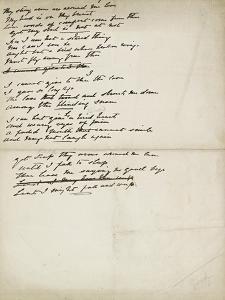 Folder of Poetry by Elizabeth Eleanor Siddal