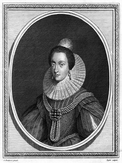 Elizabeth, Electress Palatine and Queen of Bohemia-Taylor-Giclee Print