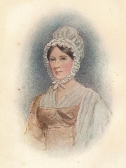 'Elizabeth Gurney (b1790), at the age of 27 (circa), 1817-Unknown-Giclee Print