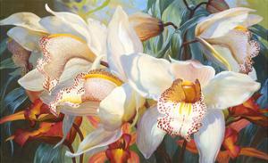 Orchid Fandango by Elizabeth Horning