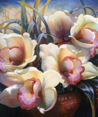 Orchid Sonata by Elizabeth Horning