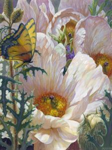 Prickly Poppies and Yellowtails by Elizabeth Horning
